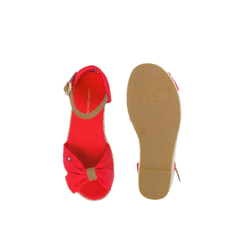 Sandały Kristin 1C Tommy Hilfiger czerwony