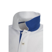 Contrast Collar Rugger polo Gant white