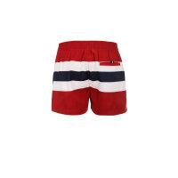 Szorty kąpielowe Multi Stripe Hilfiger Denim czerwony