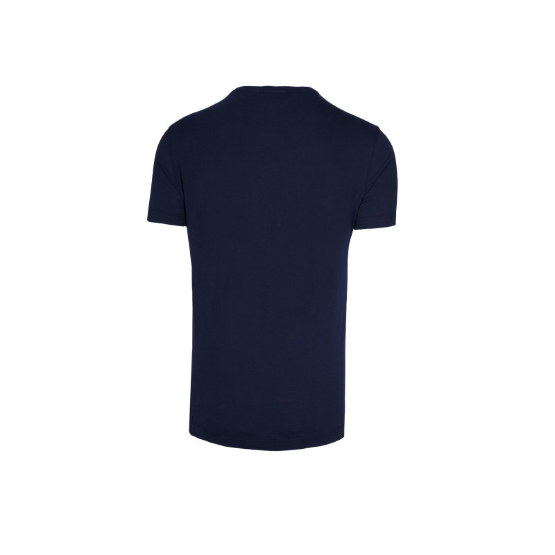 T-shirt Lacoste granatowy