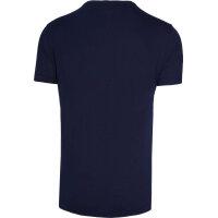 T-shirt Lacoste granatowy