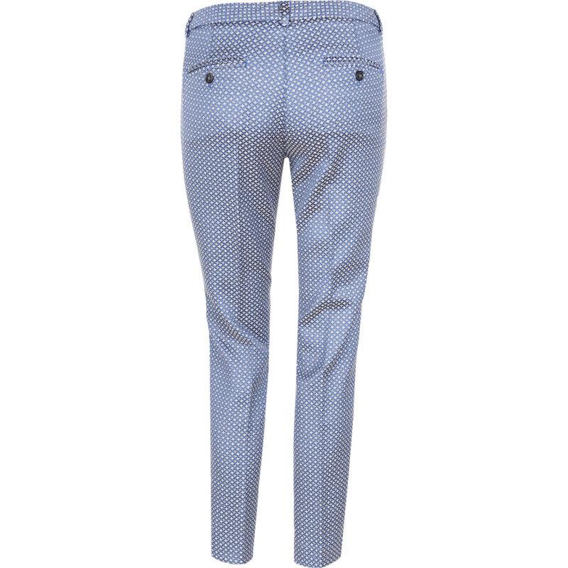 Spodnie Plava Weekend Max Mara granatowy