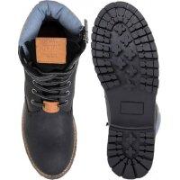 Buty Combat Collar Pepe Jeans London czarny