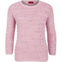 Sweter Silvetta Hugo różowy