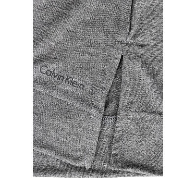 Góra od piżamy Liquid Luxe Calvin Klein Underwear szary