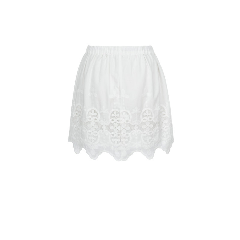 Spódnica Lacy Pepe Jeans London biały