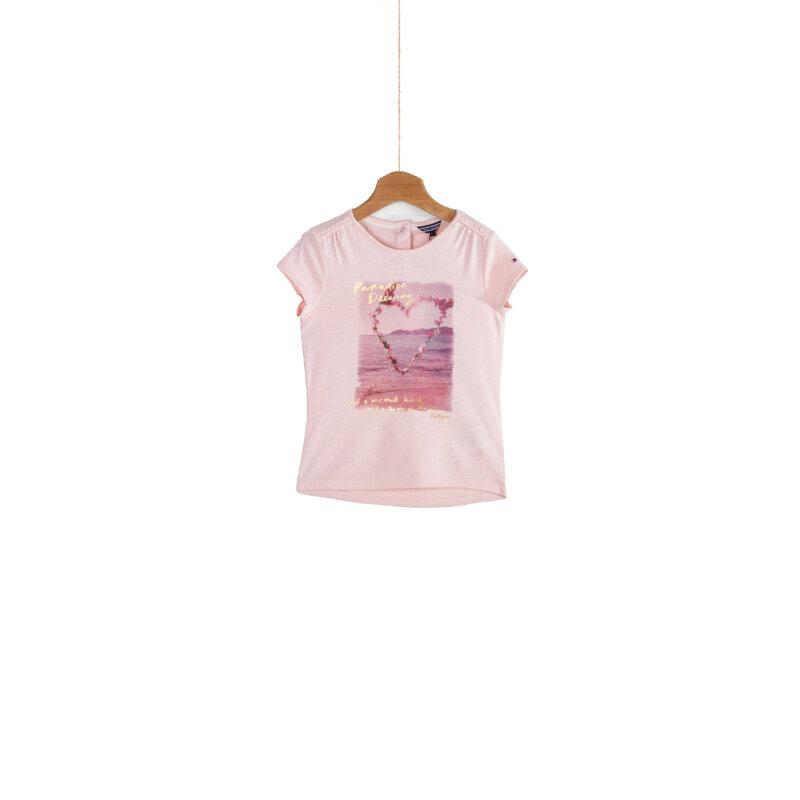 T-shirt Maddy Tommy Hilfiger różowy