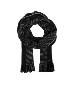 Boss Green C-Fadon-3 wool scarf