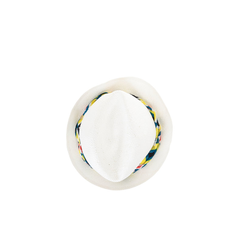 Ethnic hat Liu Jo white