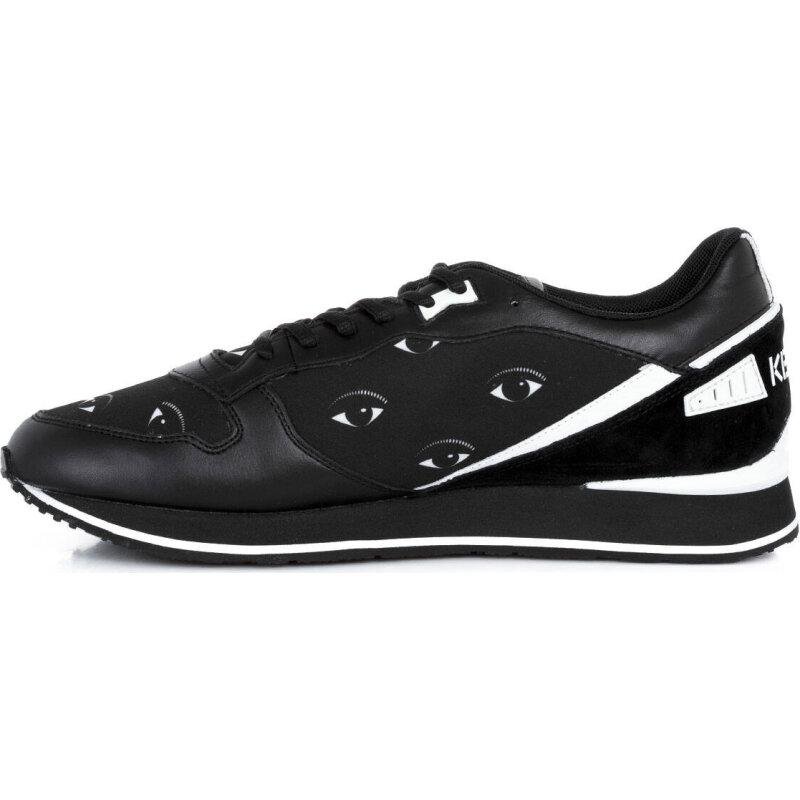 Sneakersy Running Eyes Kenzo czarny