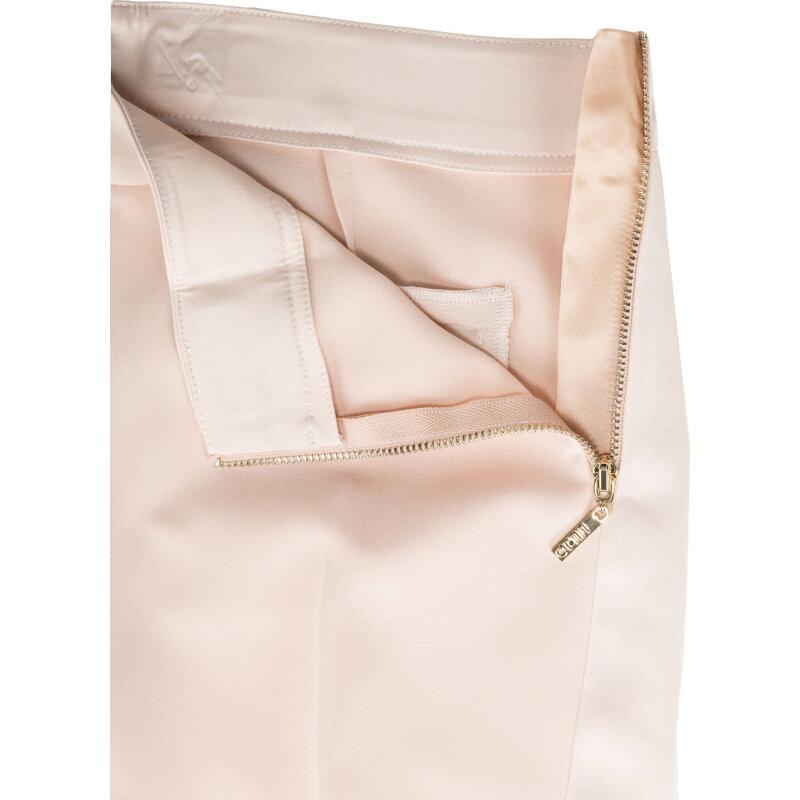 Spodnie Liu Jo pudrowy róż