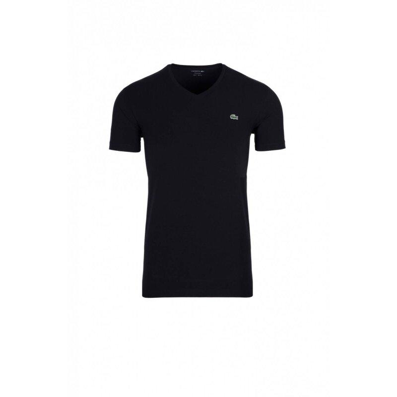 T-shirt Lacoste czarny
