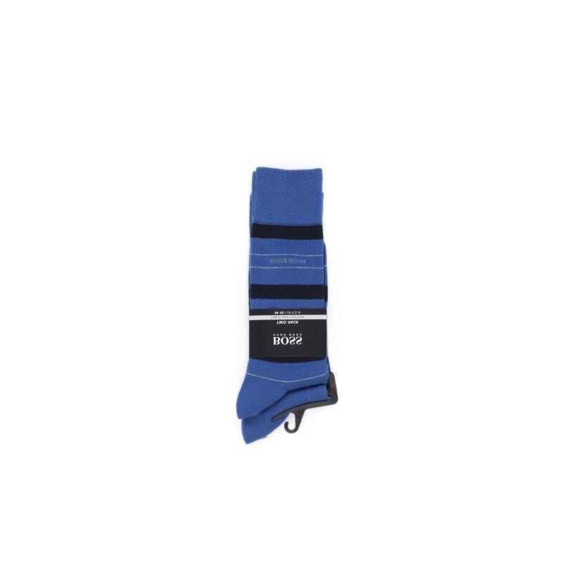 Skarpety 2-pack Boss niebieski
