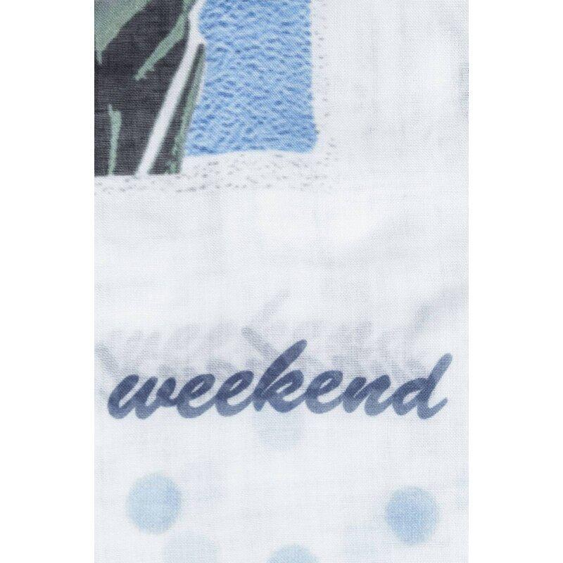 Eleonor scarf Weekend Max Mara baby blue