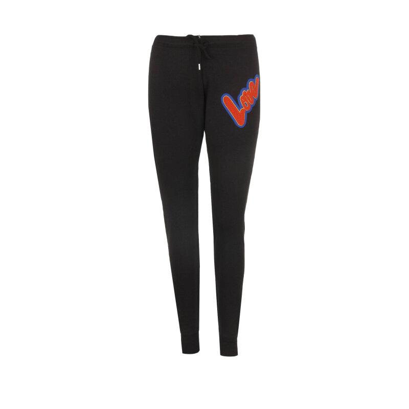 Spodnie dresowe Love Moschino czarny