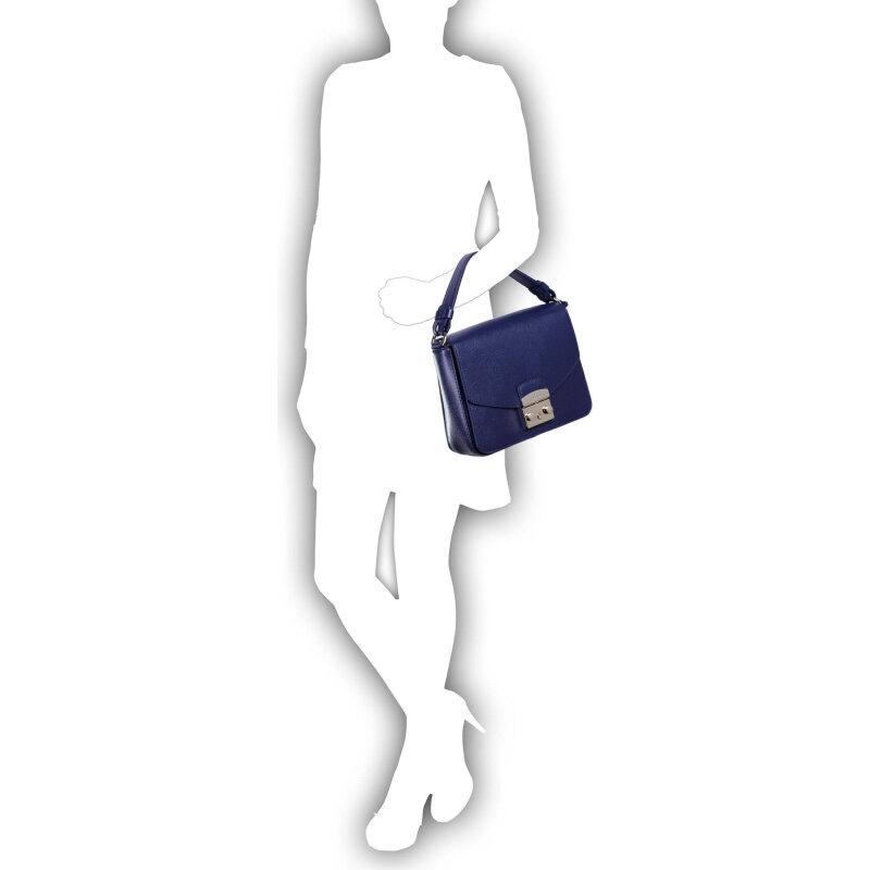 Metropolis messenger bag Furla navy blue