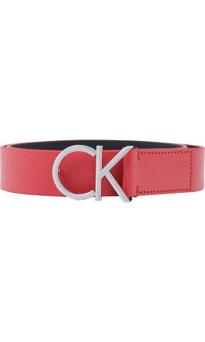 Calvin Klein Skórzany pasek CK LOGO