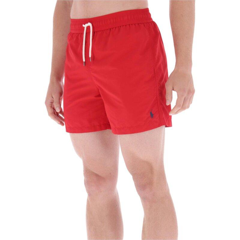 Szorty kąpielowe   Regular Fit Polo Ralph Lauren czerwony