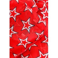 Star scarf Hilfiger Denim red