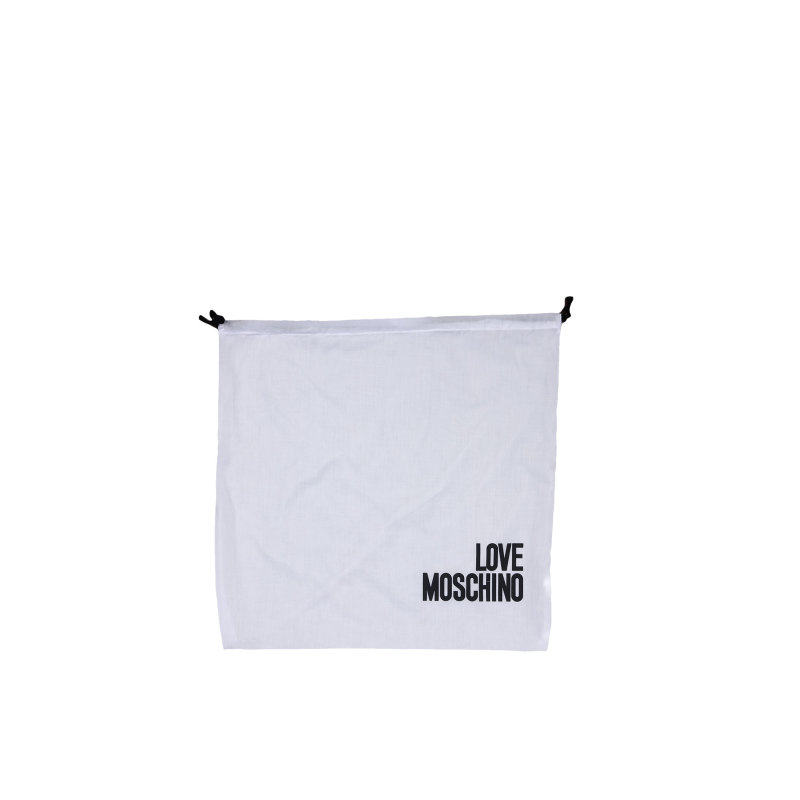 Dwustronna Shopperka Item Love Moschino czarny