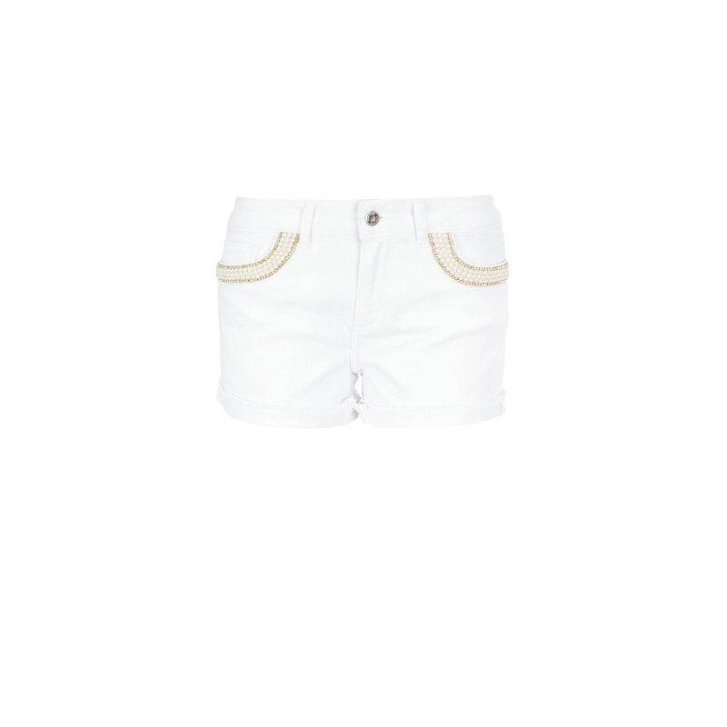 Szorty Liu Jo Jeans biały