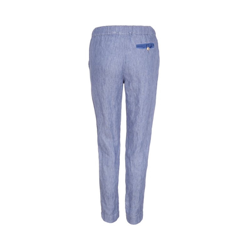 Spodnie Regina Marella SPORT niebieski
