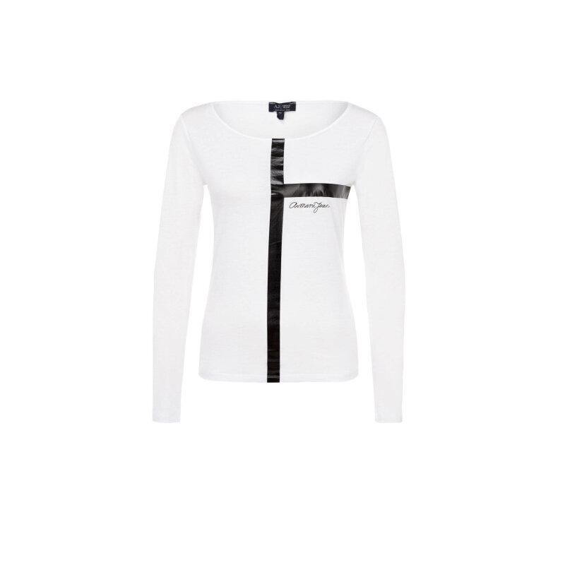 Bluzka Armani Jeans biały