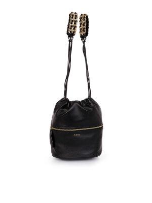Pinko Zaino Secchiello Antony Nero Bucket Bag