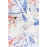 Szal Printed Cotton Hilfiger Denim niebieski