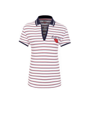 Hilfiger Denim Polo T-shirt Stripe