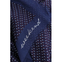 Rocco Scarf Weekend Max Mara navy blue