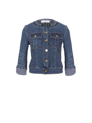 Elisabetta Franchi kurtka jeansowa