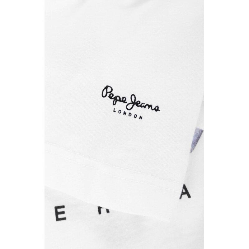 T-shirt 45 Anniversary Pepe Jeans London biały