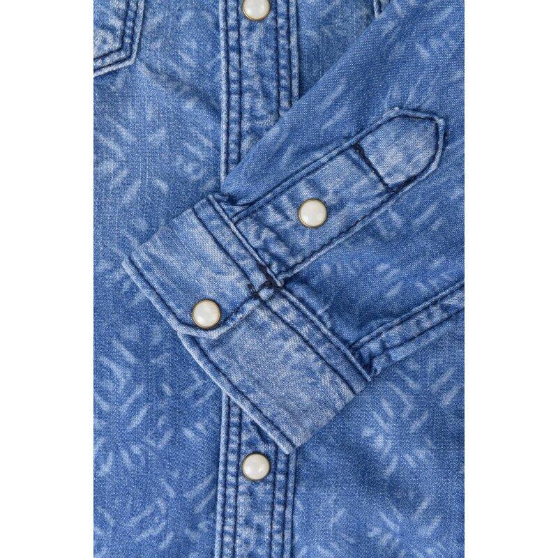 Chalot shirt Pepe Jeans London blue