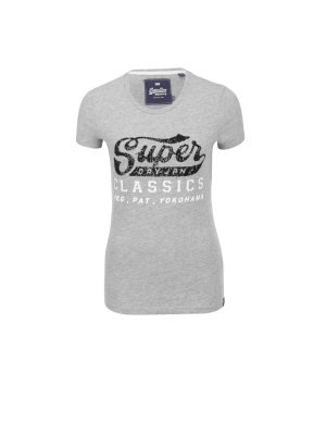 Superdry T-shirt Classic Sequin