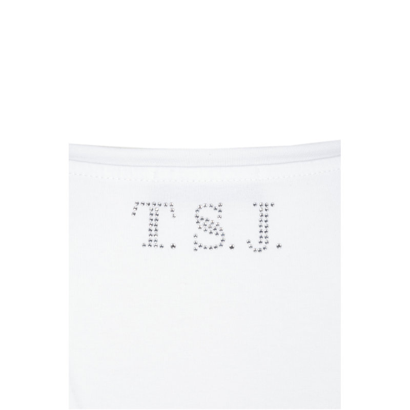 T-shirt Twinset Jeans biały