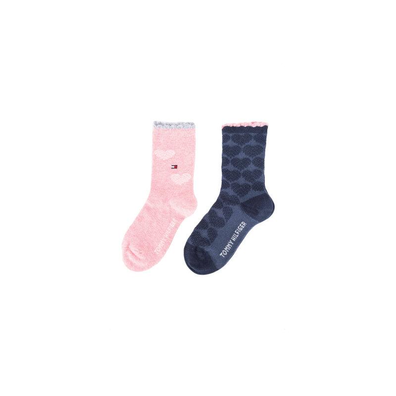 2 Pack socks Tommy Hilfiger navy blue