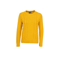 Sweter Andria Tommy Hilfiger musztardowy