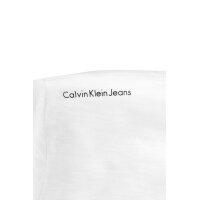 T-shirt Calvin Klein Jeans biały