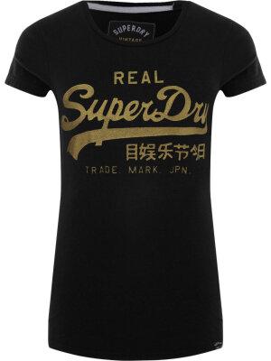 Superdry Emboss Glitter T-shirt