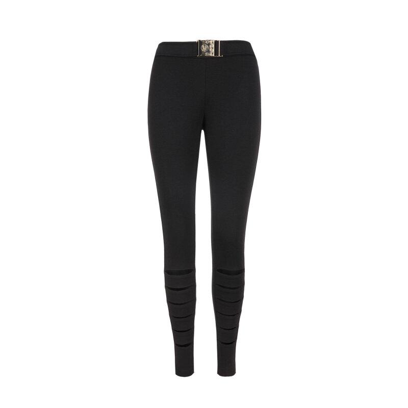 Legginsy Versace Jeans czarny