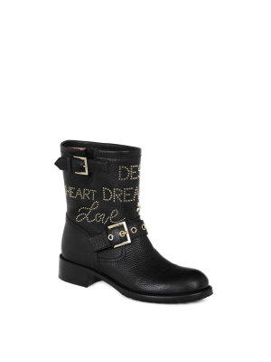 Red Valentino Motorcycle Boots