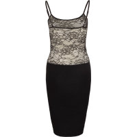 Sukienka + top Guess Jeans czarny