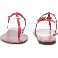 Sandały Aimon Lauren Ralph Lauren czerwony