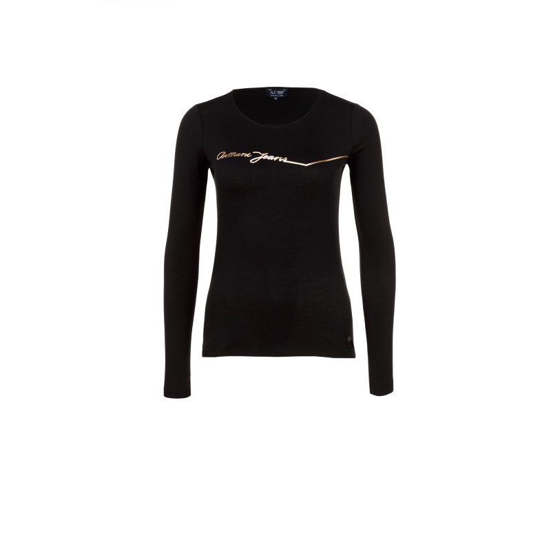 Bluzka Armani Jeans czarny