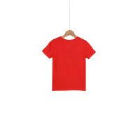 T-shirt Logo Tommy Hilfiger czerwony