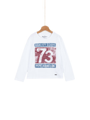 Pepe Jeans London Tobias Long Sleeve Top