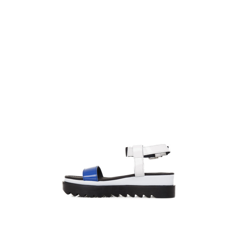 Sandals Pollini blue
