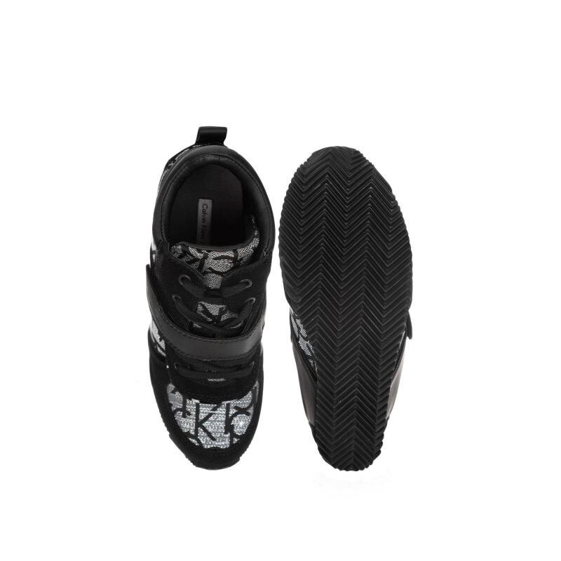 Sneakersy Virdiana Calvin Klein Jeans czarny