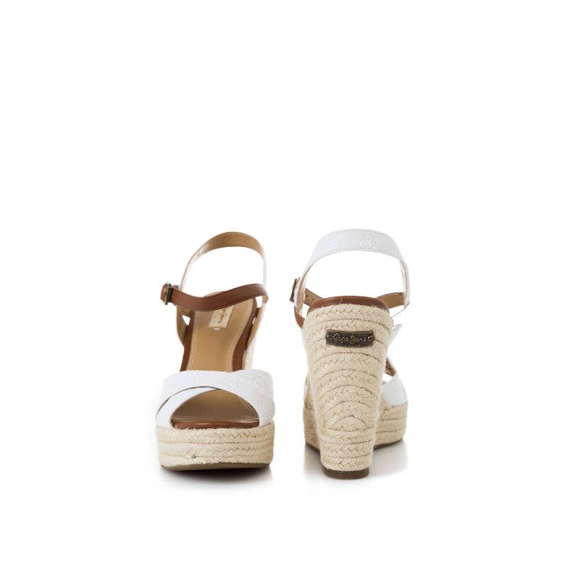 Koturny Walker Romantic Pepe Jeans London biały